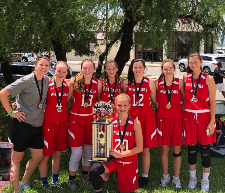 TWE 8th Girls Red